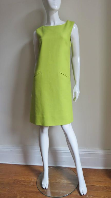 1960's B. H. Wragge Mod Flower Cutout Dress For Sale 2