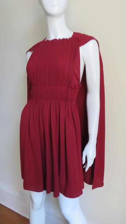 Stunning Valentino Dress With Cape In New Never_worn Condition For Sale In New York, NY