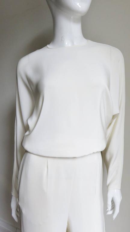Valentino Slit Back Dolman Sleeve Jumpsuit 3