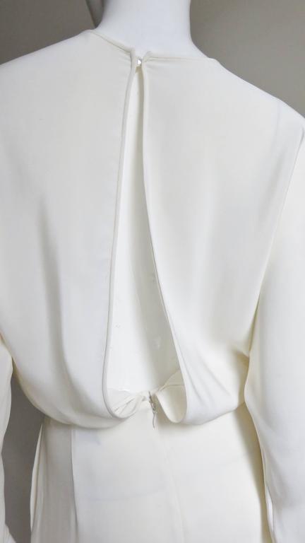 Valentino Slit Back Dolman Sleeve Jumpsuit 7