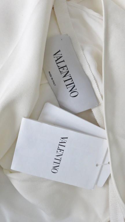 Valentino Slit Back Dolman Sleeve Jumpsuit 10