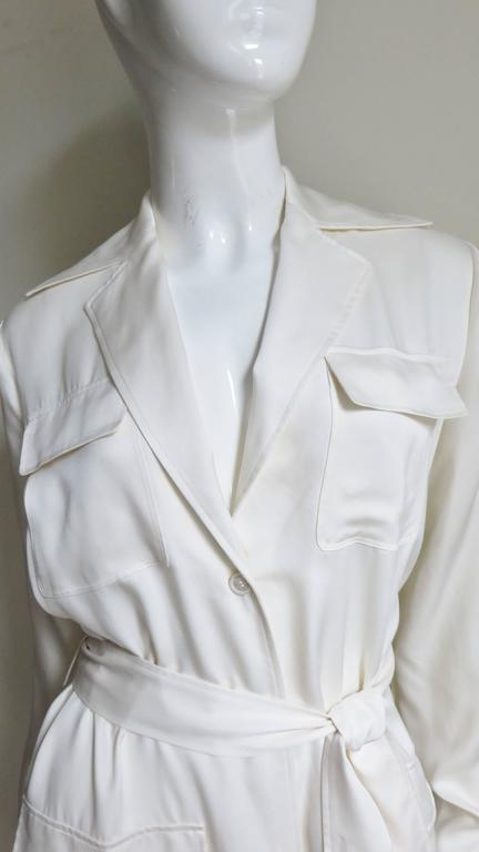 Gucci Silk Shirtwaist Maxi 3