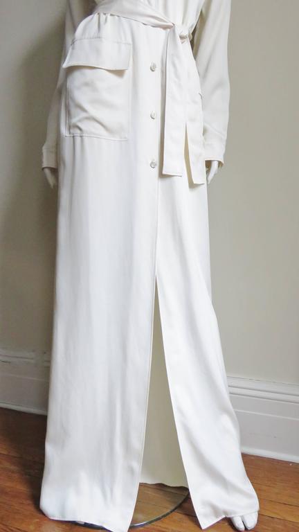 Gucci Silk Shirtwaist Maxi 4