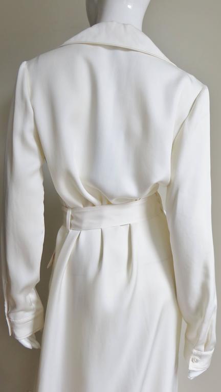 Gucci Silk Shirtwaist Maxi 7