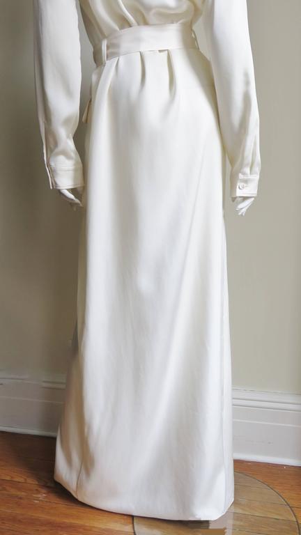 Gucci Silk Shirtwaist Maxi 8