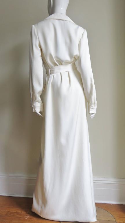 Gucci Silk Shirtwaist Maxi 9