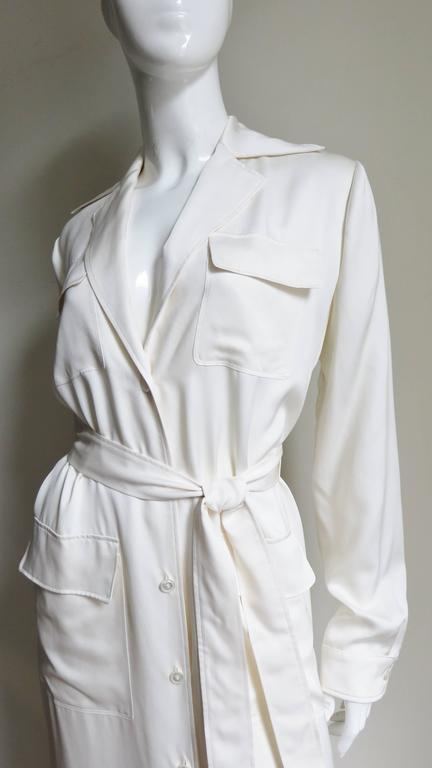 Gucci Silk Shirtwaist Maxi 2