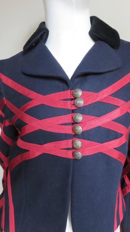 Black Moschino Geometric Pattern Jacket For Sale