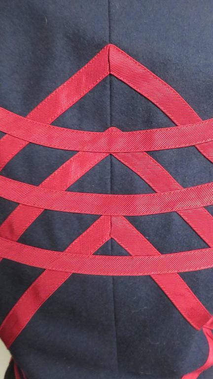 Moschino Geometric Pattern Jacket For Sale 4