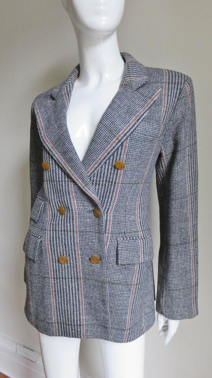 1990s Vivienne Westwood Double Breasted Jacket In New never worn Condition For Sale In New York, NY