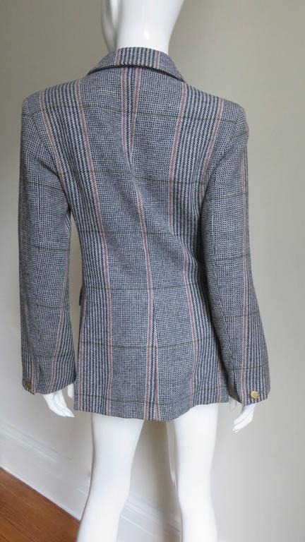 1990s Vivienne Westwood Double Breasted Jacket For Sale 2