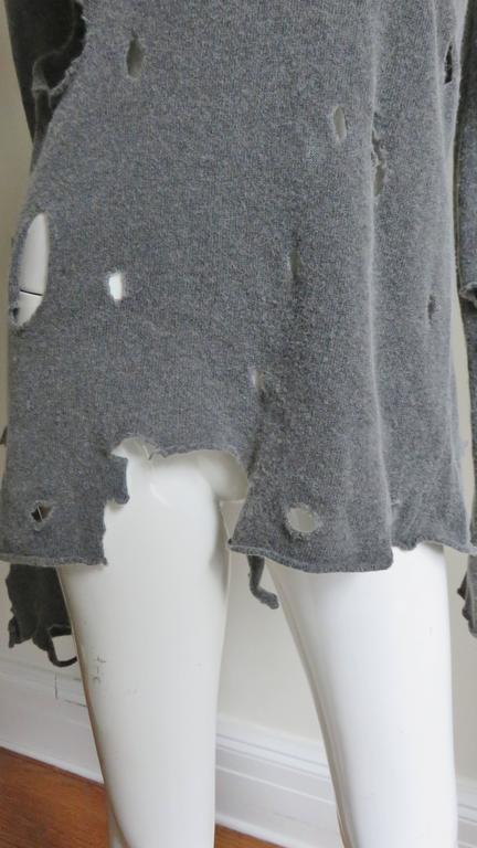 Comme des Garcons Vintage Distressed Sweater 4