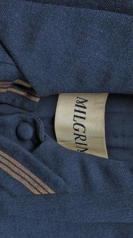 1940's Sally Milgrim Jacket with Tabs For Sale 4