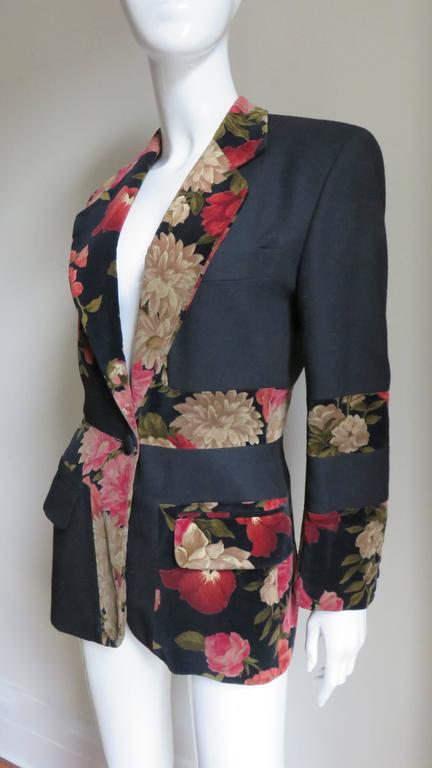 Moschino Couture Color Block Jacket In Good Condition For Sale In Water Mill, NY