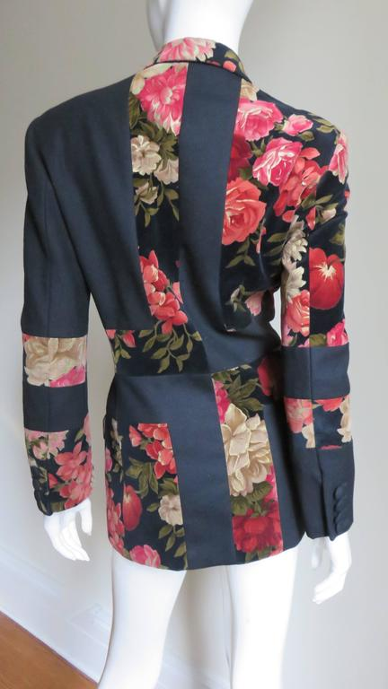 Moschino Couture Color Block Jacket For Sale 2