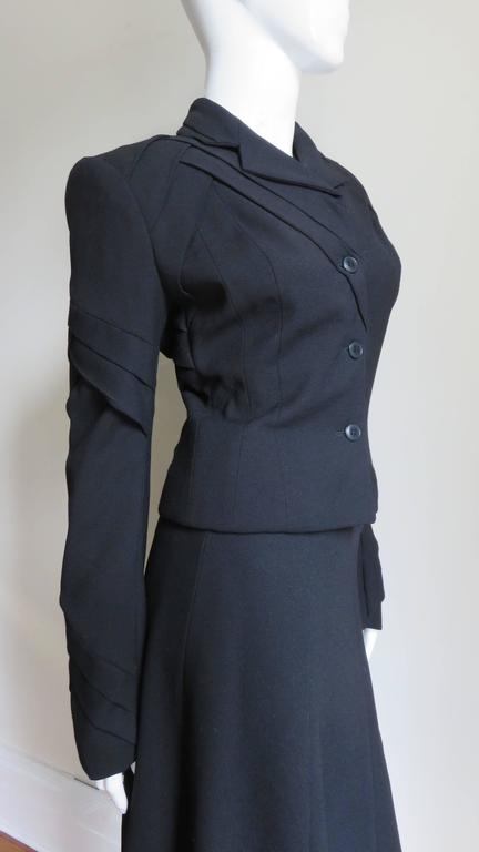 John Galliano Runway Skirt Suit 1990s For Sale 1