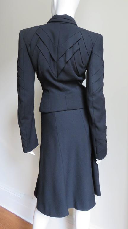 John Galliano Runway Skirt Suit 1990s For Sale 4