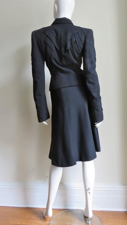 John Galliano Runway Skirt Suit 1990s For Sale 7