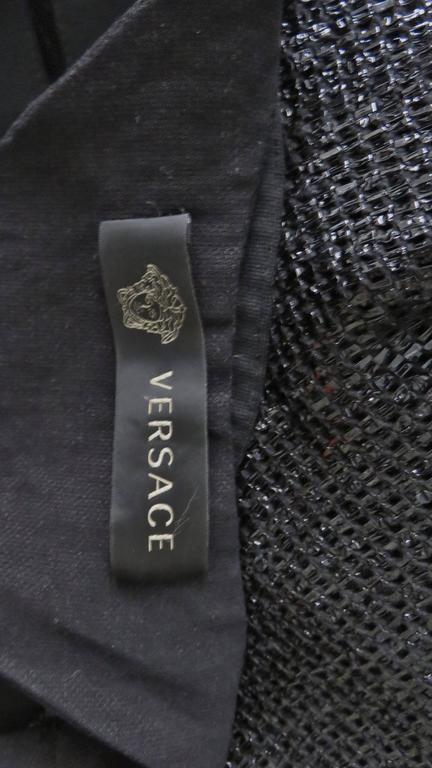 Versace Runway Cutout Bandage Dress With Full Skirt 10
