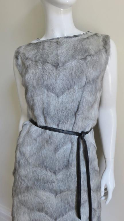Women's 1960s Mr G Fur Dress and Jacket For Sale