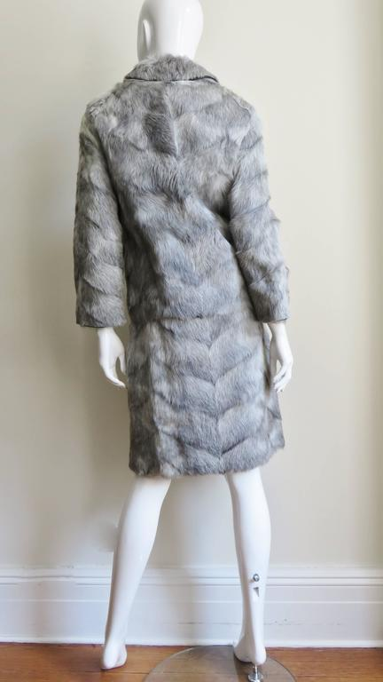 1960s Mr G Fur Dress and Jacket For Sale 10