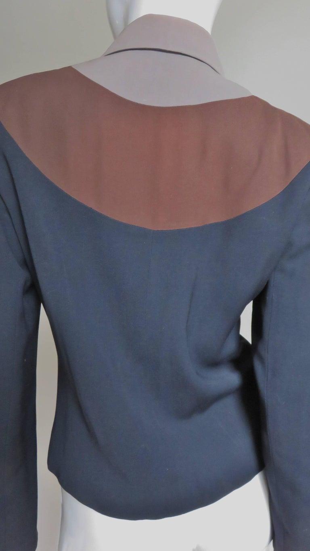 Eisenberg Originals 1950s Color Block Jacket For Sale 3