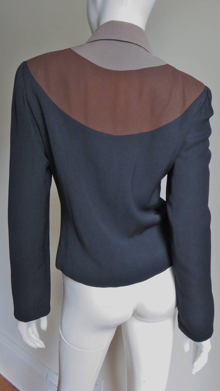 Eisenberg Originals 1950s Color Block Jacket For Sale 4