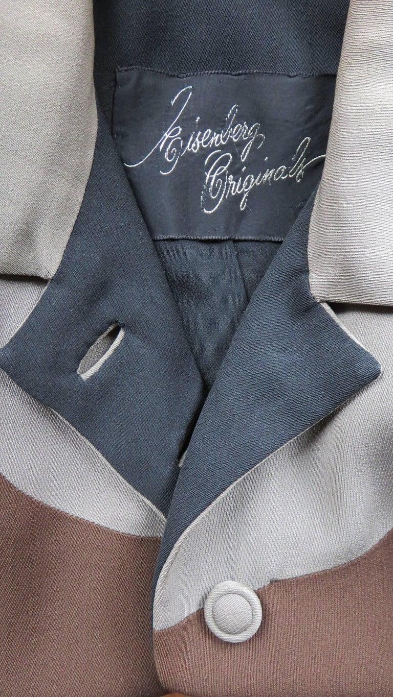 Eisenberg Originals 1950s Color Block Jacket For Sale 5