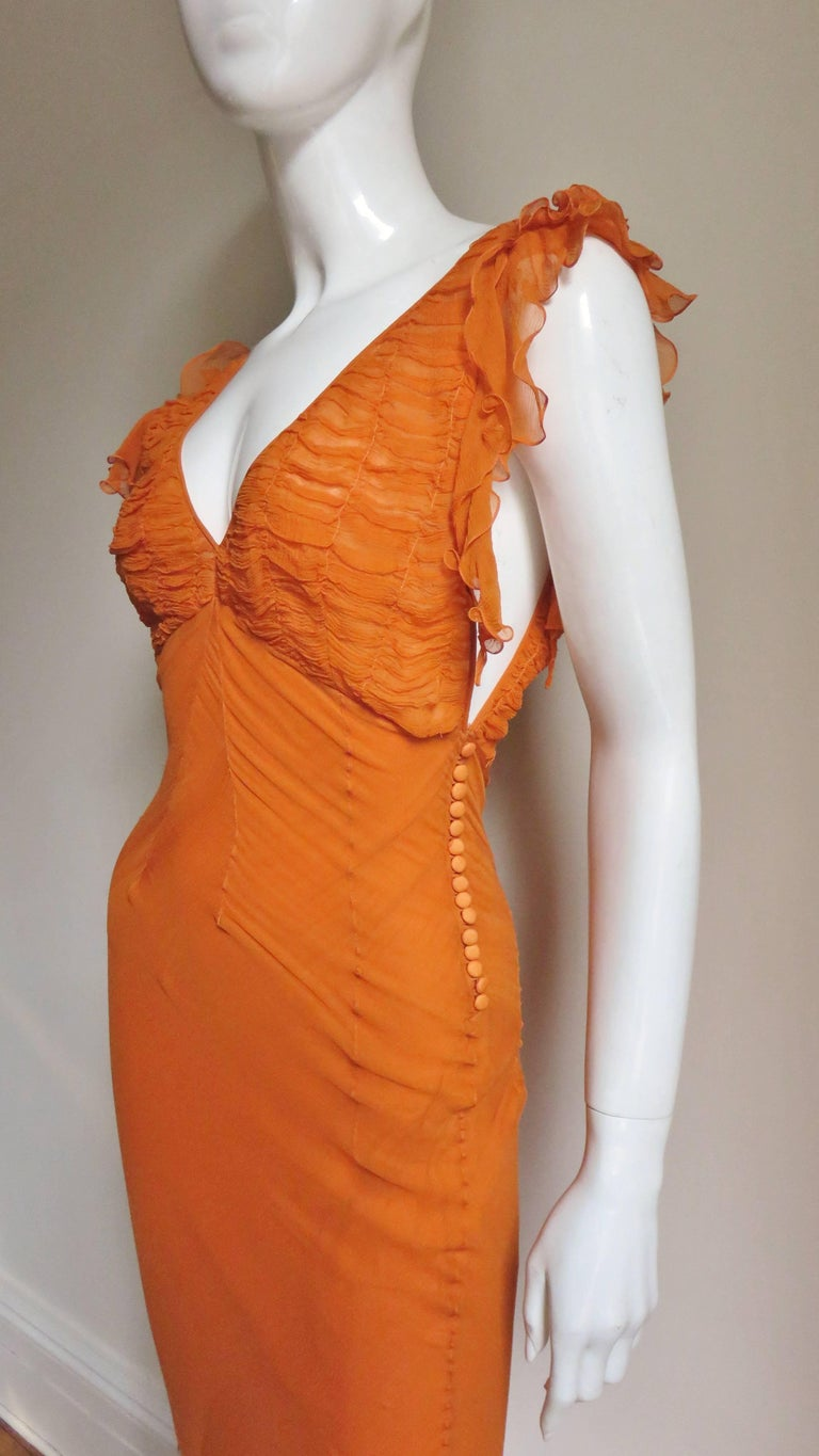 1990s Christian Dior Galliano Mermaid Gown  In New Never_worn Condition For Sale In New York, NY