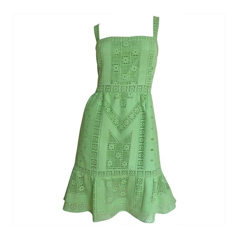 Valentino Fabulous Guipure Lace Dress