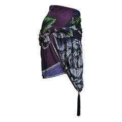1980s Gianni Versace Wrap Tassel Skirt