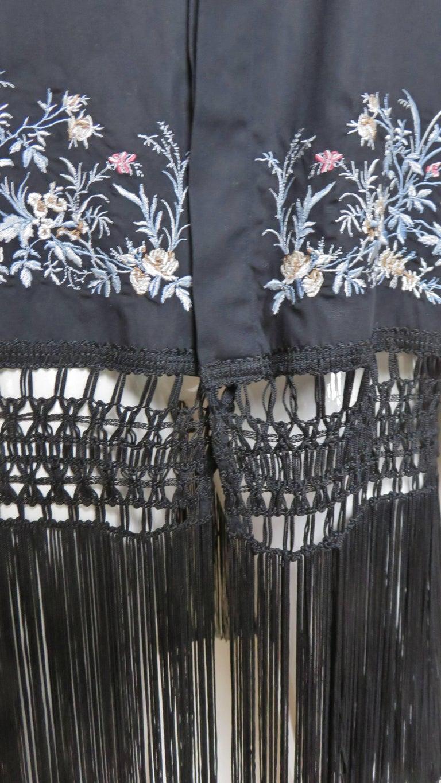 Women's Alexander McQueen New Unisex Fringe Shirt S/S 1999 For Sale