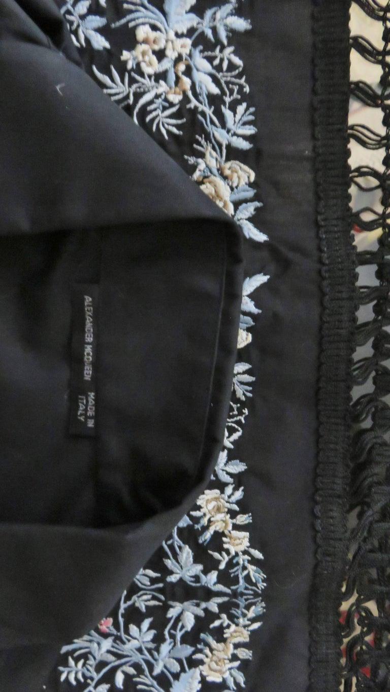 Alexander McQueen New Unisex Fringe Shirt S/S 1999 For Sale 7