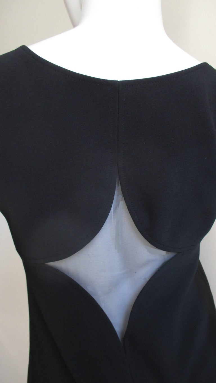 1960s Courreges Fabulous Dress with Cutouts For Sale 2
