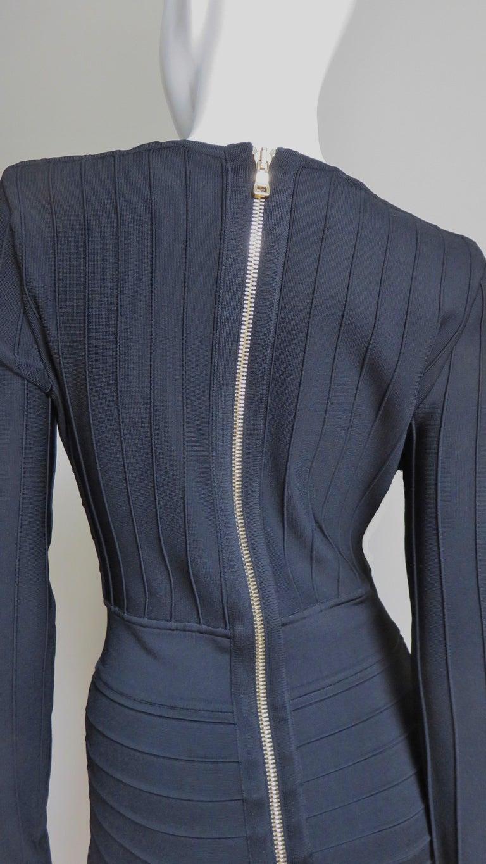 Pierre Balmain Lace Up Bandage Dress For Sale 6