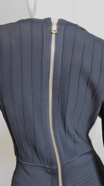 Pierre Balmain Lace Up Bandage Dress For Sale 7