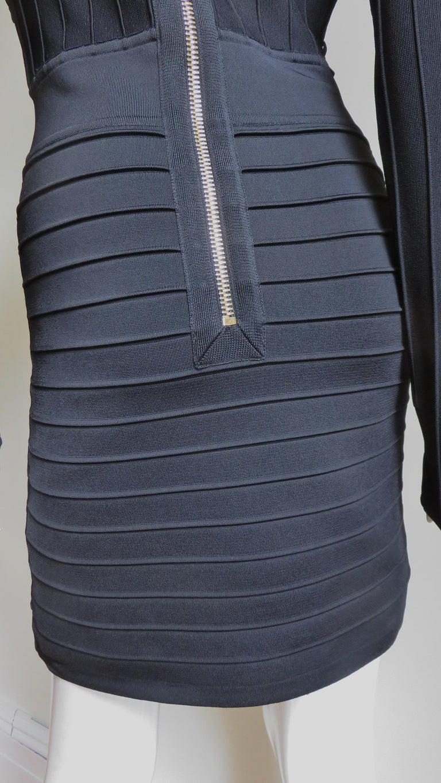 Pierre Balmain Lace Up Bandage Dress For Sale 8