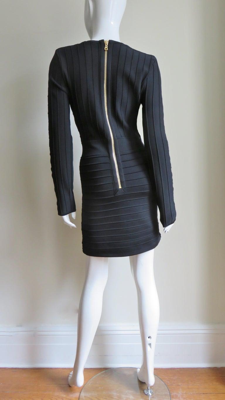 Pierre Balmain Lace Up Bandage Dress For Sale 9
