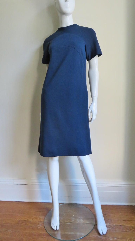 Pauline Trigere 1960s Dress and Hood For Sale 2