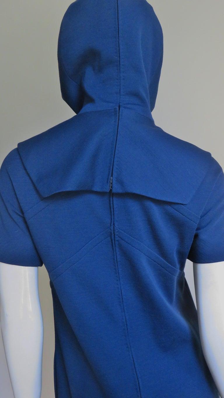 Pauline Trigere 1960s Dress and Hood For Sale 8