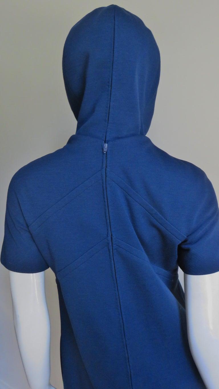 Pauline Trigere 1960s Dress and Hood For Sale 9