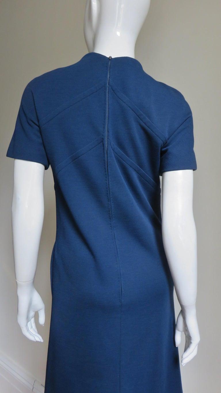 Pauline Trigere 1960s Dress and Hood For Sale 10