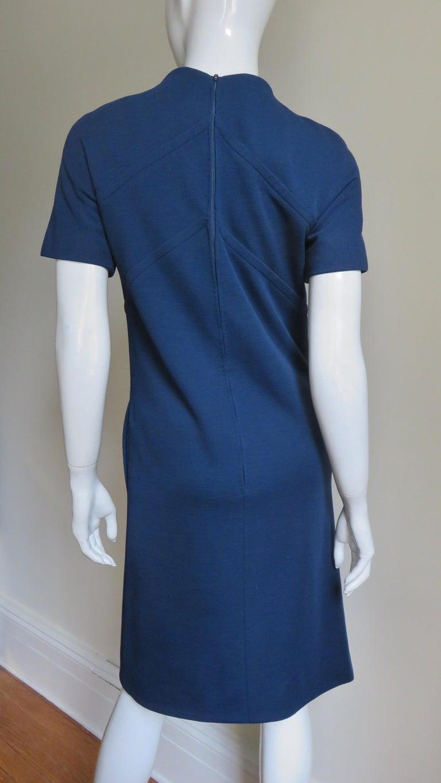 Pauline Trigere 1960s Dress and Hood For Sale 11