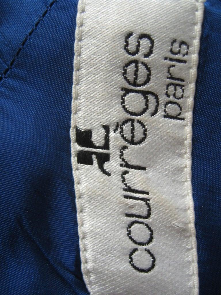 1970s Courreges Color Block Dress For Sale 5