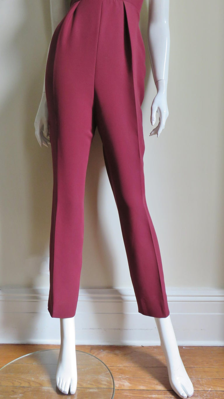 Gucci Silk Halter Jumpsuit For Sale 2