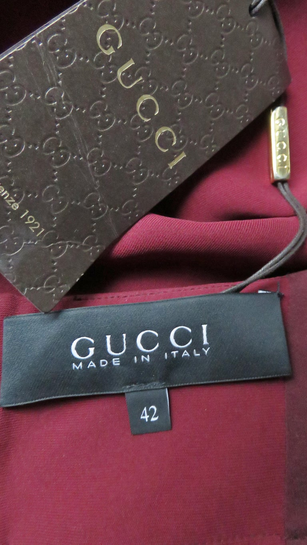 Gucci Silk Halter Jumpsuit For Sale 10