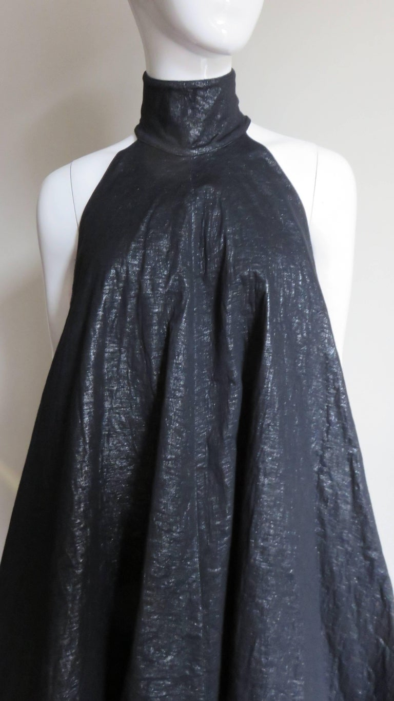 Gareth Pugh New Puff Triangle Maxi Dress In Excellent Condition For Sale In New York, NY