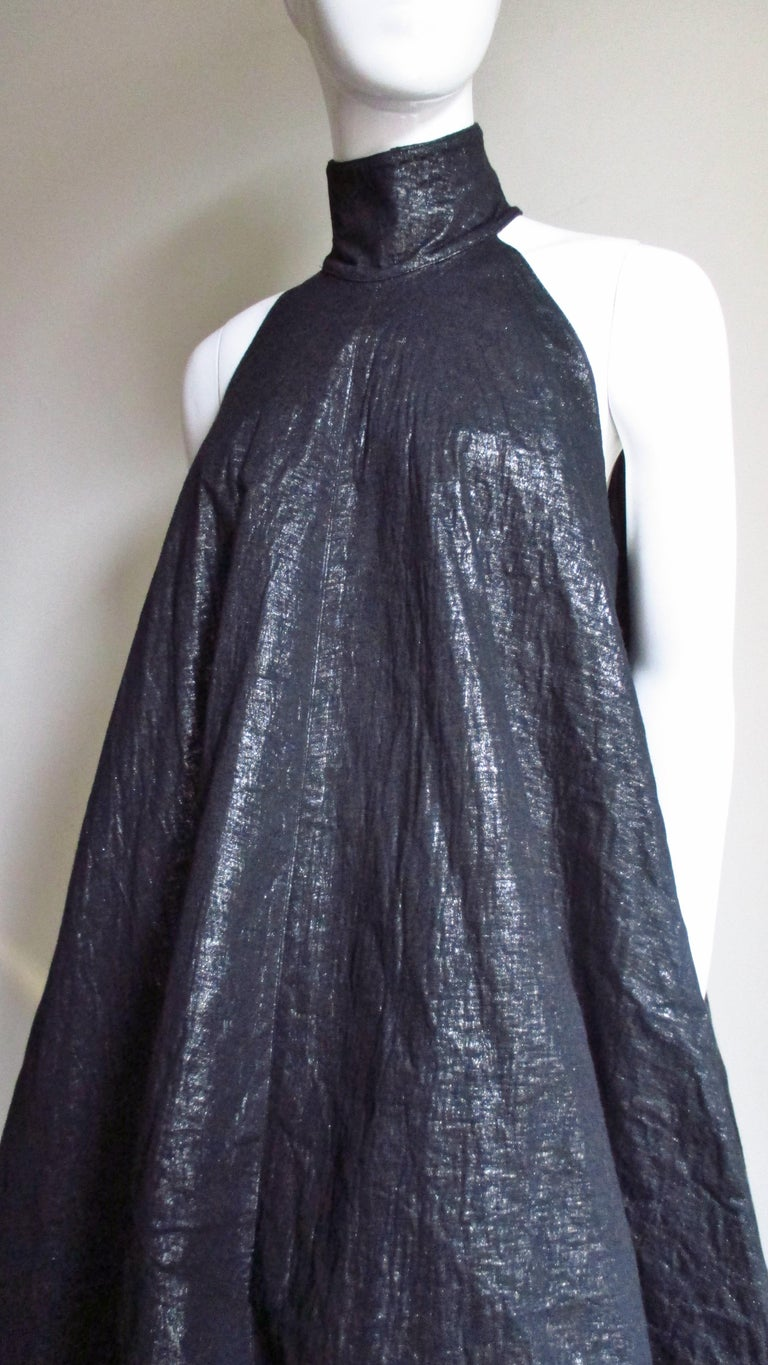 Gareth Pugh New Puff Triangle Maxi Dress For Sale 1