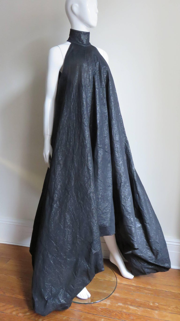 Gareth Pugh New Puff Triangle Maxi Dress For Sale 4