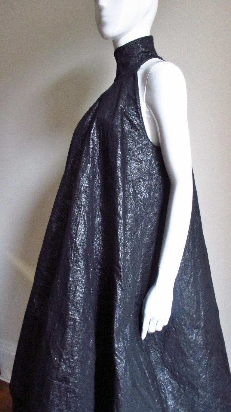 Gareth Pugh New Puff Triangle Maxi Dress For Sale 6